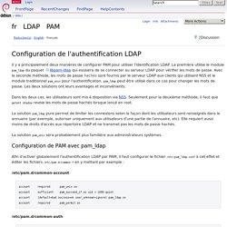 fr/LDAP/PAM