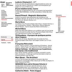 FRAC PACA - Publications