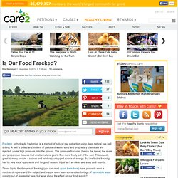 Is Our Food Fracked?