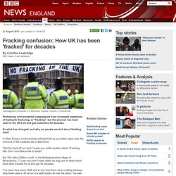Fracking confusion: How UK has been 'fracked' for decades
