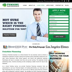 Fracnhise Financing