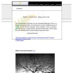 Fractal Explorer - Contents
