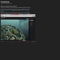 Fractal Lab - Interactive WebGL Fractal Explorer