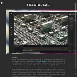 Fractal Lab - sub.blue