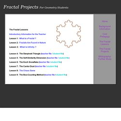 Fractal Projects