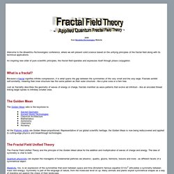 Fractal Field Theory - Applied Quantum Fractal Field Theory