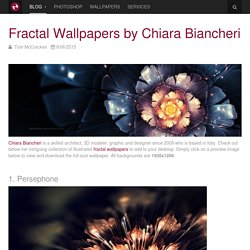 Fractal Wallpapers by Chiara Biancheri