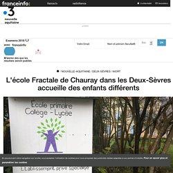L'école Fractale de Chauray dans les Deux-Sèvres accueille des enfants différents