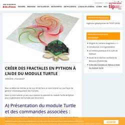 Créer des fractales en Python à l'aide du module Turtle