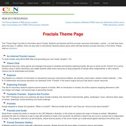 Fractals Theme Page