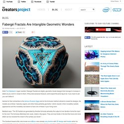 Fabergé Fractals Are Intangible Geometric Wonders