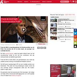 Frank de Wolf blijft fractievoorzitter PvdA