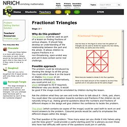 Fractional Triangles