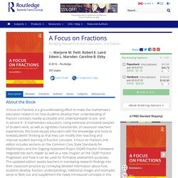 A Focus on Fractions: Bringing Research to the Classroom, 2nd Edition (Paperback)