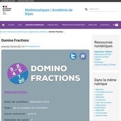 Domino Fractions - Mathématiques
