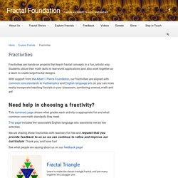 Fractivities : FractalFoundation.org