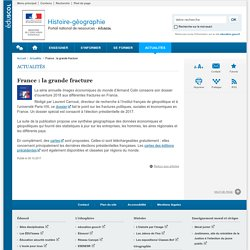 France : la grande fracture-Histoire-géographie-Éduscol