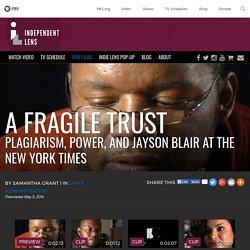 Jayson Blair Plagiarism Scandal