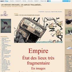 EMPIRE - État des lieux (fragmentaire) en images : Les grosses orchades, les amples thalamèges..