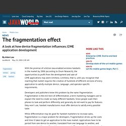 The fragmentation effect