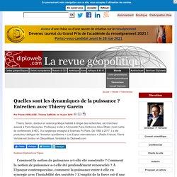 Thierry Garcin, « La fragmentation du monde. La puissance dans les relations internationales »