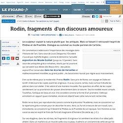 Rodin, fragments d'un discours amoureux