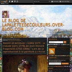 vidéo 1573 : la liseuse (vers 1770) de Jean-Honoré Fragonard (1732-1806) - L'art de la reproduction à la peinture à l'huile