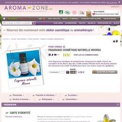 Fragrance cosmétique naturelle Moorea