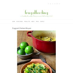Fragrant Chicken Biryani « FrugalFeeding