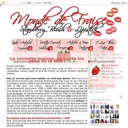 Le blog beauté makeup & cosméto home made d'une Fraise totalement addict: La cosméto maison, ça coûte les yeux de la tête?