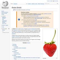 Fraise (fruit)