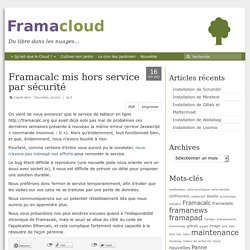 Framacalc: tableur collaboratif