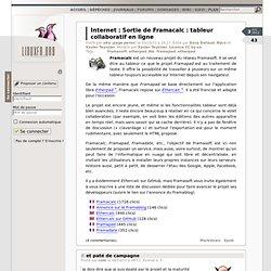 Sortie de Framacalc : tableur collaboratif en ligne