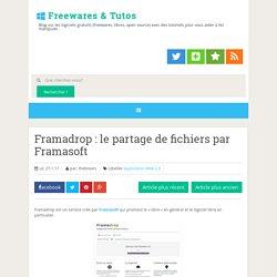 le partage de fichiers par Framasoft