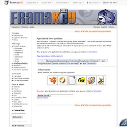 Framakey Portables Index