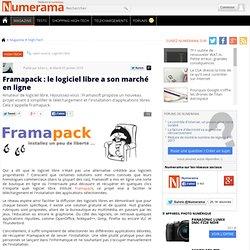 Framapack : le logiciel libre a son marché en ligne - Numerama