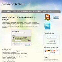 Framapic, un service en ligne libre de partage d'images