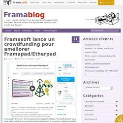 Framasoft lance un crowdfunding pour améliorer Framapad/Etherpad