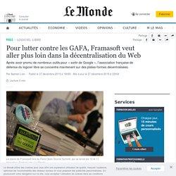 Pour lutter contre les GAFA, Framasoft veut aller plus loin dans la décentralisation du Web