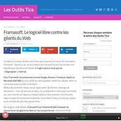 Framasoft. Le logiciel libre contre les géants du Web