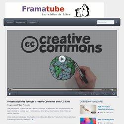 Présentation des licences Creative Commons avec CC-Kiwi
