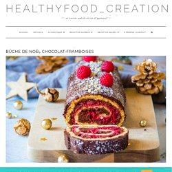 Bûche de Noël chocolat-framboises