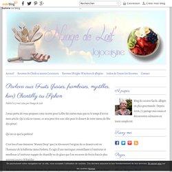 Pavlova aux Fruits (fraises, framboises, myrtilles, kiwi) Chantilly au Siphon