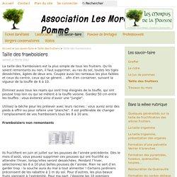 Taille des framboisiers - Association Les Mordus de la Pomme