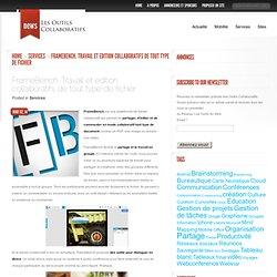 FrameBench. Travail et edition collaboratifs de tout type de fichier