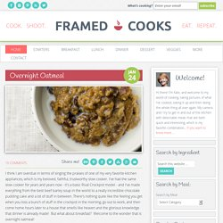 Framed Cooks Recipes — Punchfork