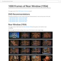 1000 Frames of Rear Window (1954) - Alfred Hitchcock Wiki - Mozi