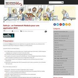 Sails.js : un framework NodeJs pour une application MVC