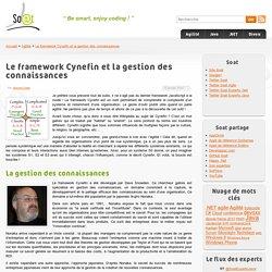 Le framework Cynefin et la gestion des connaissances