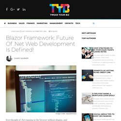 What is the modern future of Blazor in asp.net?